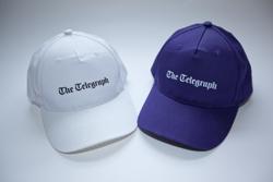 Printed logo baseball caps
