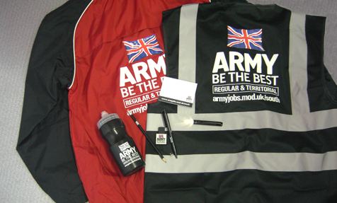 Army Merchandise Selection supplied by coprom