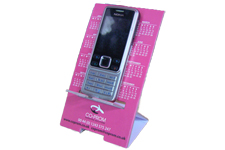 Desktop promotional items phone holder / calendar