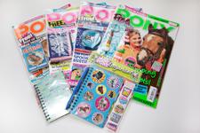 magazine cover mounts