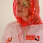 #rain poncho red hood