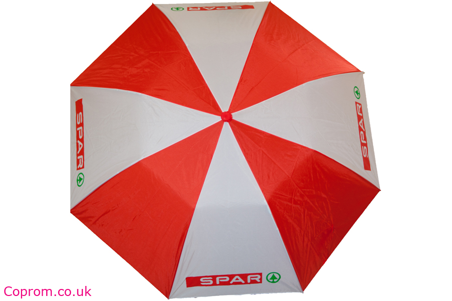coloured and printed umbrellas - promotional