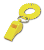 Whistle - great promo item to grab attention