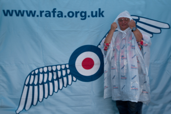 royal air force association rain poncho
