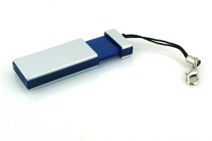 Usb stick Slide with Phone Cord