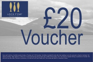 Co prom loch-fyne voucher