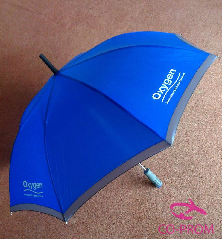 Promotional umbrellas for oxygen exhibitions - Parasol prix discount ...