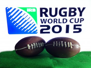 chocolate  balls rugby world cup 2015