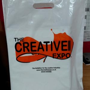 branded carrier bag
