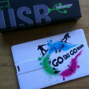 Snowsport USB card